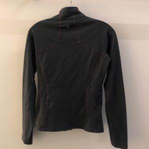lululemon athletica Jackets & Coats - Lululemon gray with purple jacket, sz 8, 68960